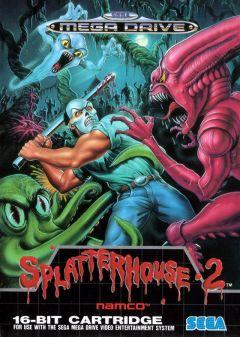 Jaquette de Splatterhouse 2 Mega Drive