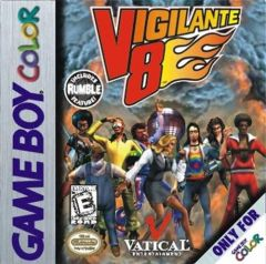 Jaquette de Vigilante 8 Game Boy Color