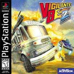 Jaquette de Vigilante 8 : Second Offense PlayStation