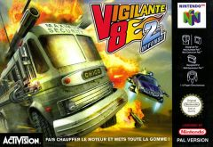 Jaquette de Vigilante 8 : Second Offense Nintendo 64