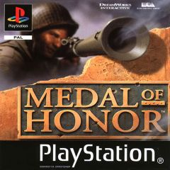 Jaquette de Medal of Honor (original) PlayStation