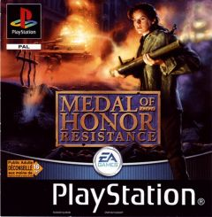 Jaquette de Medal of Honor : Résistance PlayStation