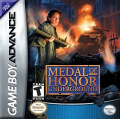 Jaquette de Medal of Honor : Résistance Game Boy Advance