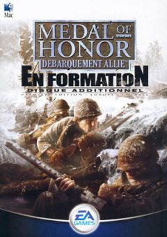 Jaquette de Medal of Honor : Débarquement Allié - En Formation Mac