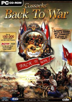 Jaquette de Cossacks : Back to War PC