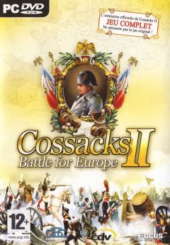Jaquette de Cossacks II : Battle for Europe PC