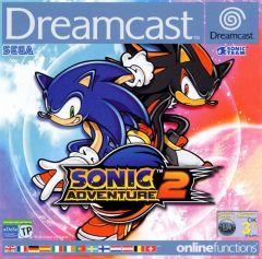 Jaquette de Sonic Adventure 2 Dreamcast