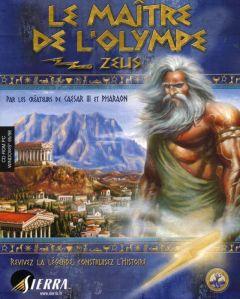 Jaquette de Le Maître de l'Olympe : Zeus PC