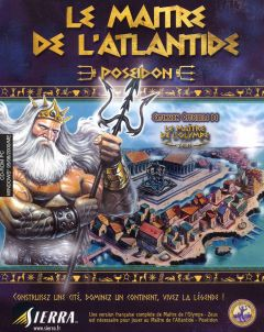 Jaquette de Le Maître de l'Atlantide : Poséidon PC