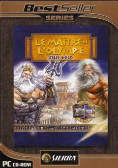 Jaquette de Le Maître de l'Olympe : Zeus - Gold PC