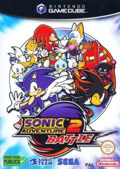 Jaquette de Sonic Adventure 2 GameCube