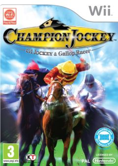 Jaquette de Champion Jockey : G1 Jockey & Gallop Racer Wii