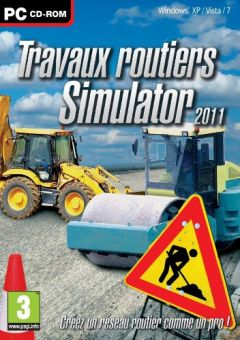 Jaquette de Travaux routiers Simulator 2011 PC