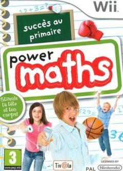 Jaquette de Succès au primaire : Power Maths Wii