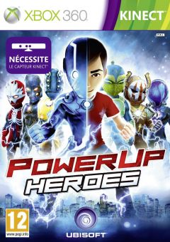 Jaquette de PowerUp Heroes Xbox 360