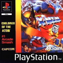 Jaquette de X-Men : Children Of The Atom PlayStation