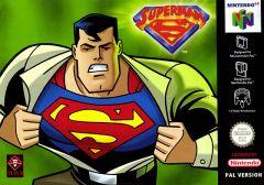 Jaquette de Superman Nintendo 64