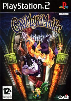 Jaquette de GrimGrimoire PlayStation 2