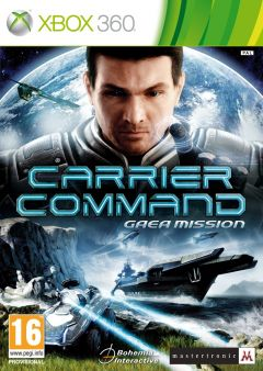 Jaquette de Carrier Command : Gaea Mission Xbox 360