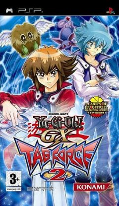 Jaquette de Yu-Gi-Oh! GX Tag Force 2 PSP