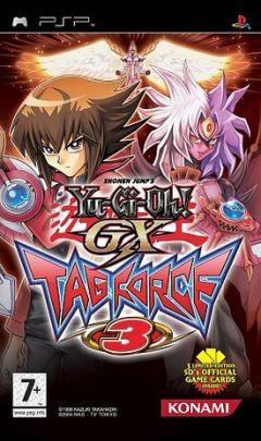 Jaquette de Yu-Gi-Oh! GX Tag Force 3 PSP
