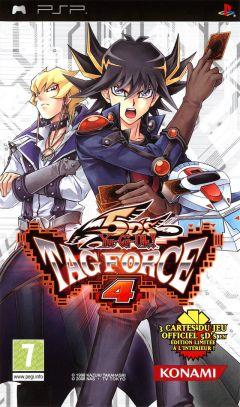 Jaquette de Yu-Gi-Oh! 5D's Tag Force 4 PSP