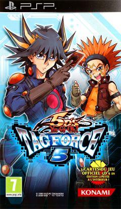 Jaquette de Yu-Gi-Oh! 5D's Tag Force 5 PSP