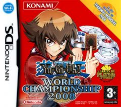 Jaquette de Yu-Gi-Oh! World Championship 2008 DS