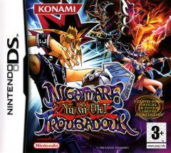 Jaquette de Yu-Gi-Oh! Nightmare Troubadour DS