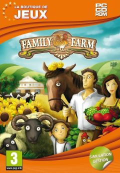 Jaquette de Family Farm PC