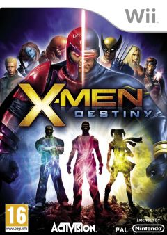 Jaquette de X-Men : Destiny Wii
