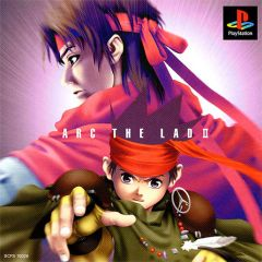 Jaquette de Arc The Lad II PlayStation