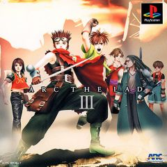Jaquette de Arc the Lad III PlayStation