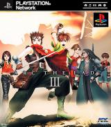 Jaquette de Arc the Lad III PlayStation 3