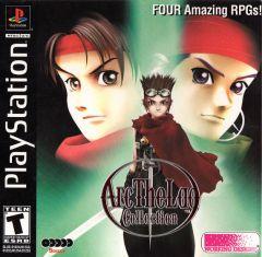 Jaquette de Arc the Lad Collection PlayStation