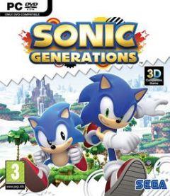 Jaquette de Sonic Generations PC