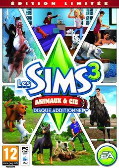 Jaquette de Les Sims 3 : Animaux et compagnie Mac