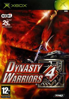 Jaquette de Dynasty Warriors 4 Xbox