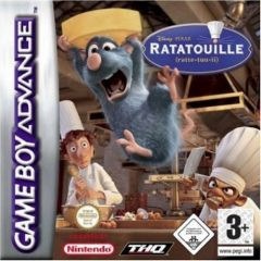 Jaquette de Ratatouille Game Boy Advance