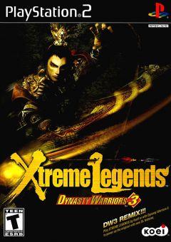 Jaquette de Dynasty Warriors 3 : Xtreme Legends PlayStation 2