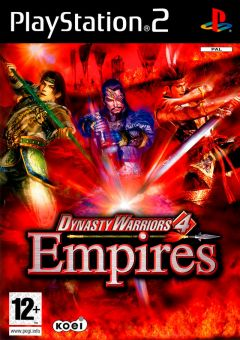 Jaquette de Dynasty Warriors 4 : Empires PlayStation 2