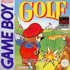 Jaquette de Golf Game Boy