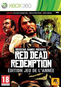 Jaquette de Red Dead Redemption : Edition Jeu de l'Année Xbox 360