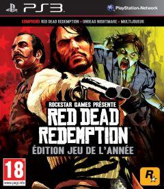 Jaquette de Red Dead Redemption : Edition Jeu de l'Année PlayStation 3