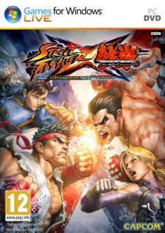 Jaquette de Street Fighter X Tekken PC