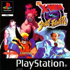Jaquette de X-Men Vs Street Fighter PlayStation