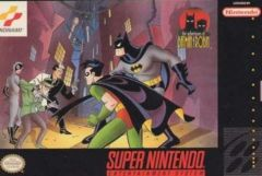 Jaquette de The Adventures of Batman & Robin Super NES