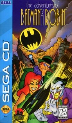 Jaquette de The Adventures of Batman & Robin MegaCD