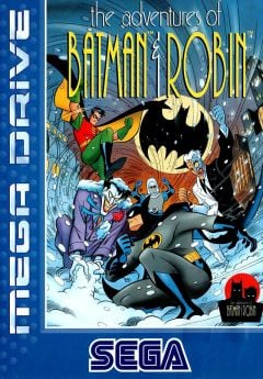 Jaquette de The Adventures of Batman & Robin Megadrive