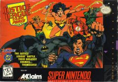 Jaquette de Justice League Task Force Super NES
